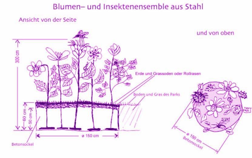 Blumenplan